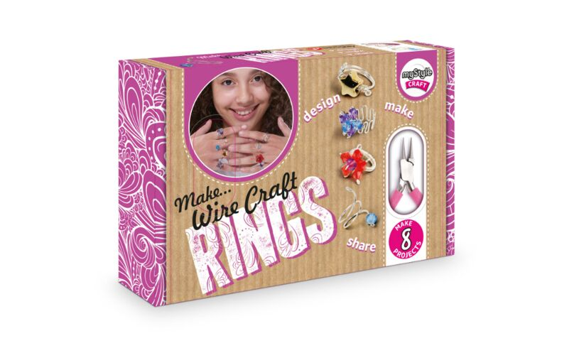 My Style Wire Craft Rings Kit