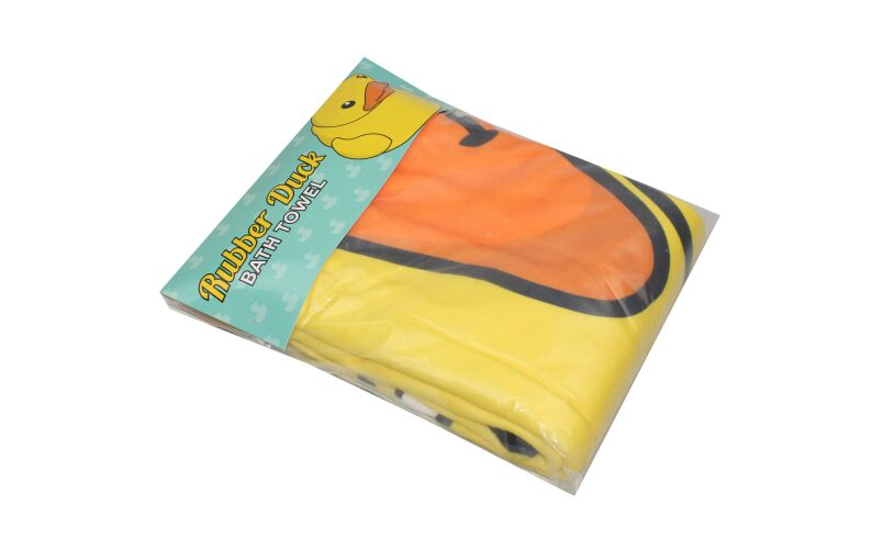 Rubber Duck Towel Packaging