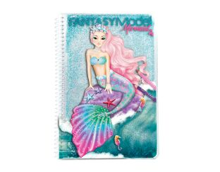Fantasy Model Top Model Mermaid Notebook