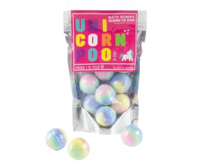 Unicorn Poo Bath Bombs