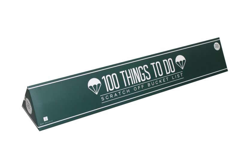 100 Things to Do Scratch poster
