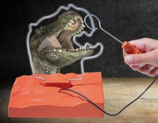 2 in 1 T-Rex Buzz Wire