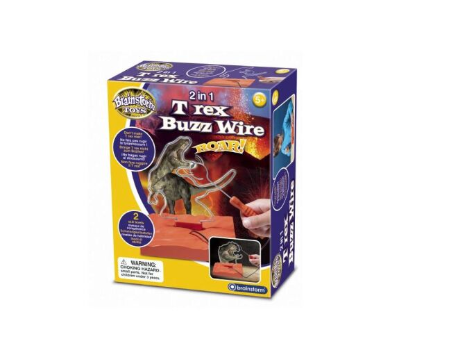 Brainstorm 2 in 1 T-Rex Buzz Wire