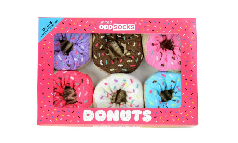 United Odd Socks Donuts
