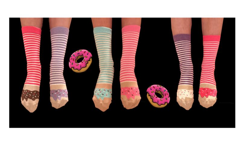 United Odd Socks Donuts Odd Socks
