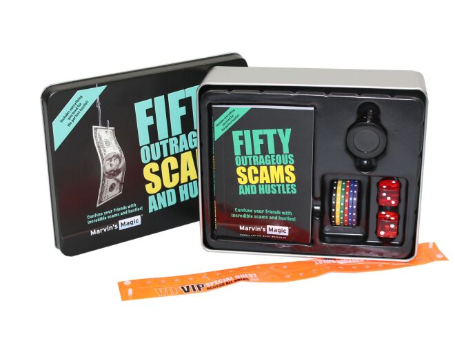 Fifty Outrageous scams and hustles
