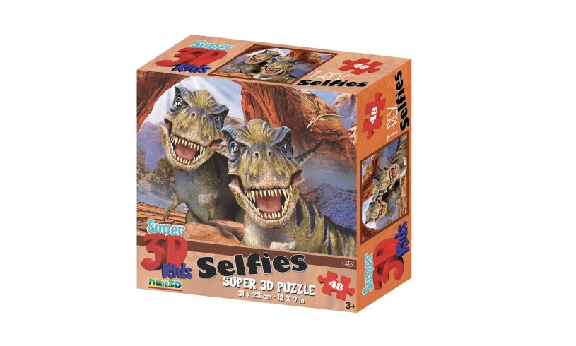 Super 3D Junior T-Rex Puzzle
