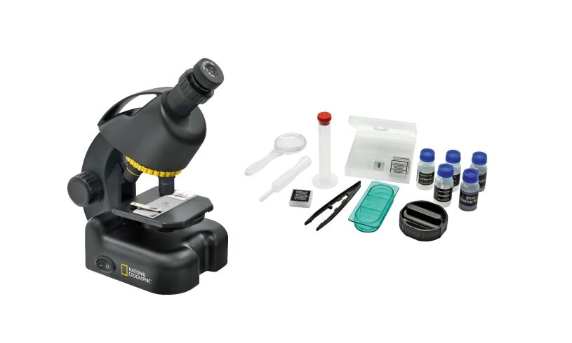 National Geographic Microscope 40x 640x