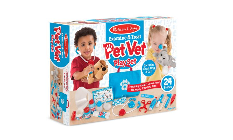 Pet Vet Play Set Box