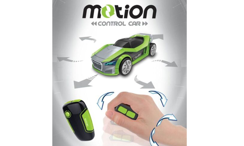 Motion Control Car - Hand Gesture Driving