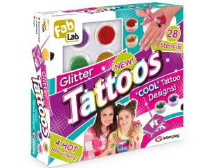 Interplay Glitter Tattoos