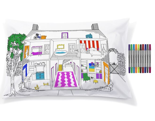 Colour In Pillowcase
