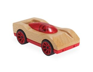 Roadster Wooden Car