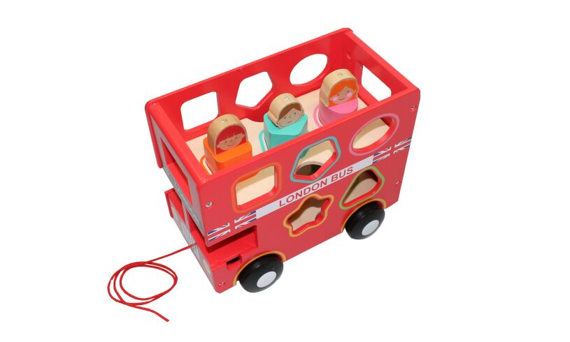 London Bus Shape Sorter
