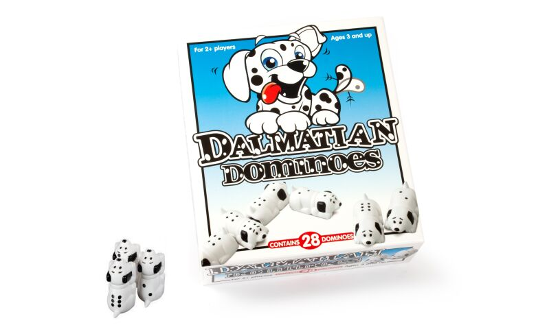 Dalmatian Dominoes Game