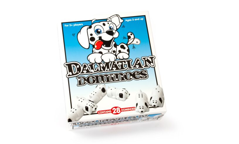 Dalmatian Dominoes Box