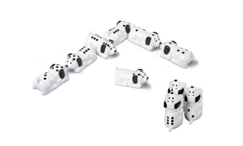 Dalmatian Dominoes