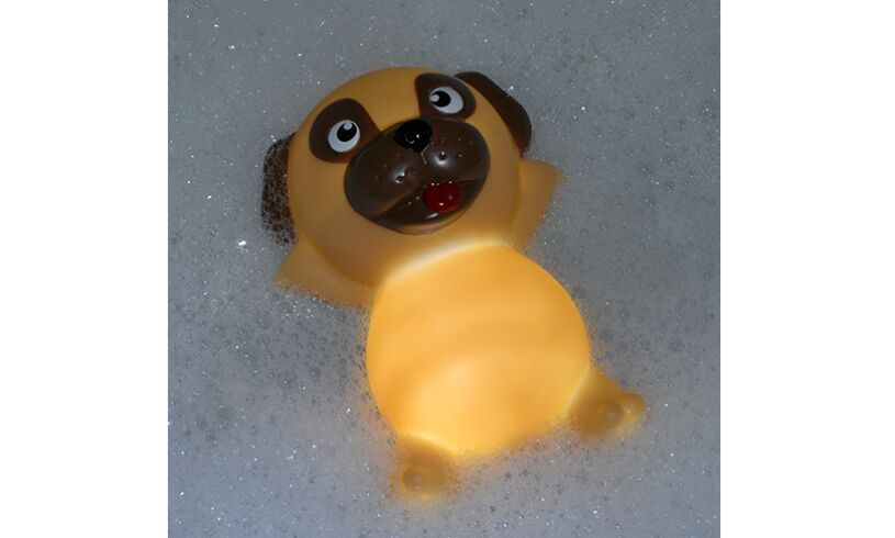 Light Up Pug Bathplug