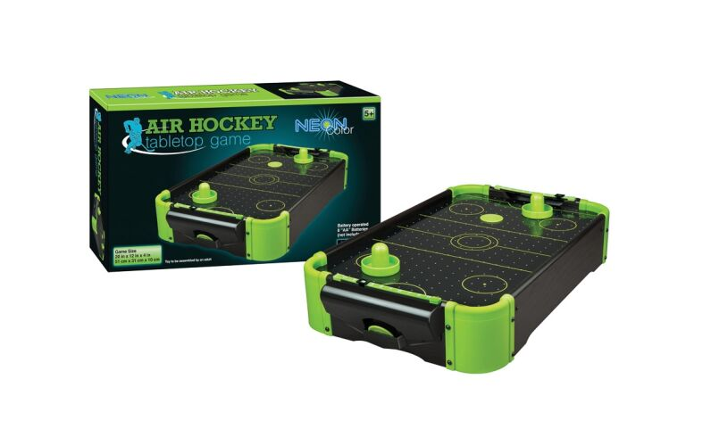 Funtime Air Hockey NEON Tabletop Game