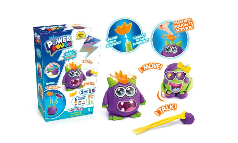 Canal Toys Power Dough Monsters