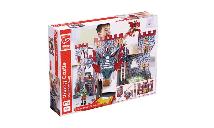 Hape Viking Castle Box