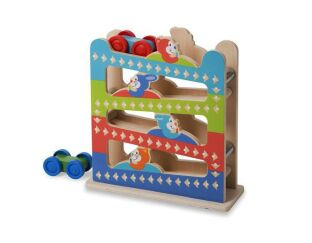 Melissa and Doug Ramp Tower Best Toys for 1 Year Old Boys | Presents \u0026 Gifts from Wicked Uncle UK