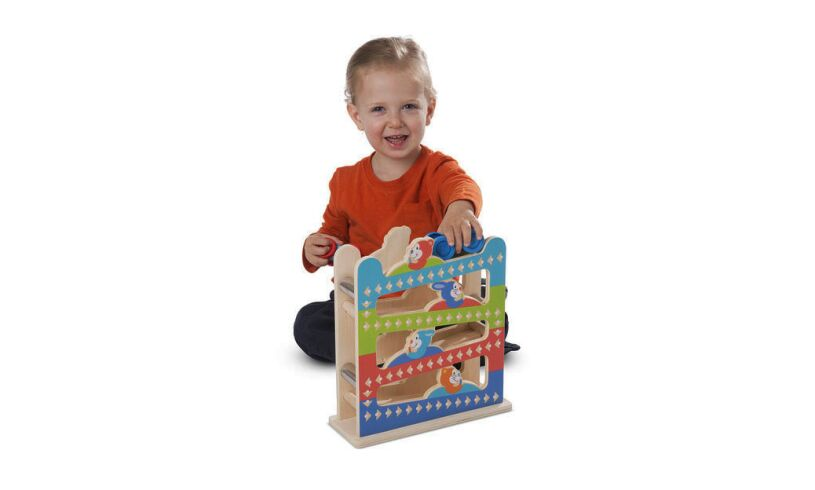 Melissa and Doug First Play Ramp Tower