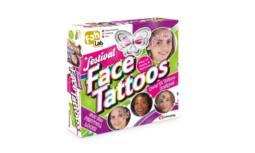 Fab Lab Festival Face Tattoos