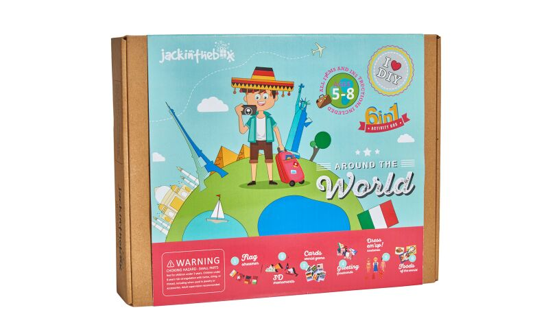 Jack in the box Around the World