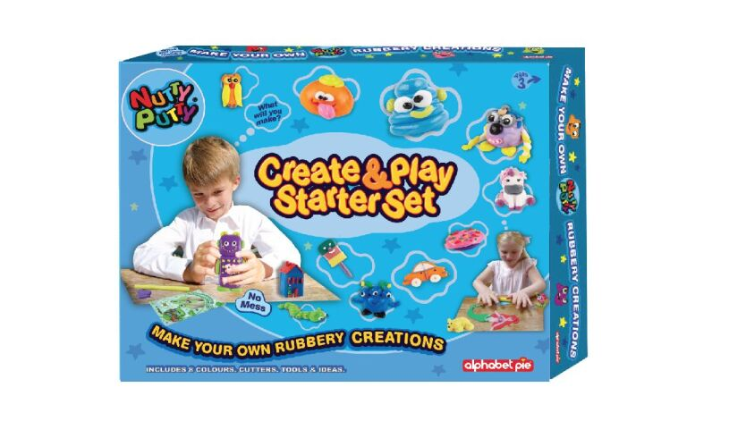 Nutty PuttyCreate & Play Starter Set