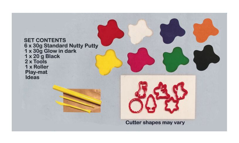 Nutty Putty Colours
