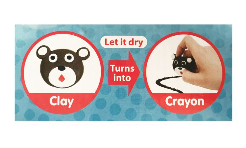 Clay crayon making set