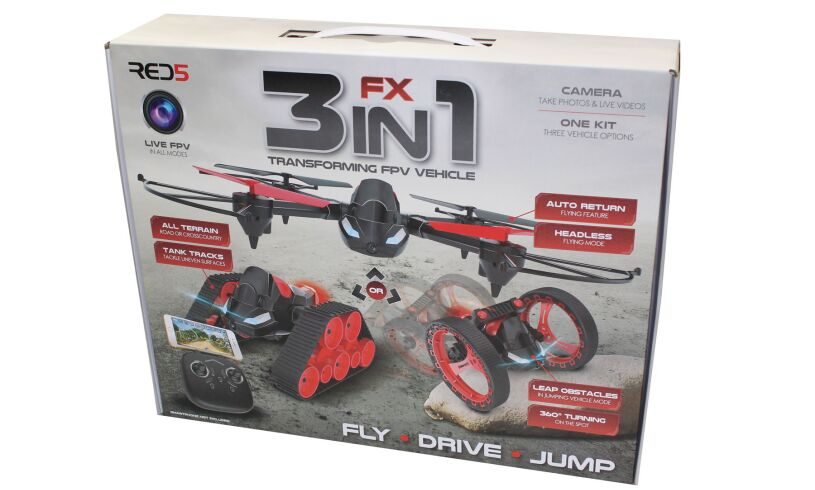 FX 3 in 1 Transforming FPV Vehicle
