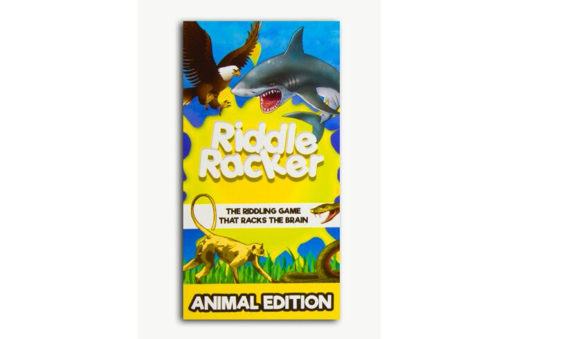 Riddle Racker animal box