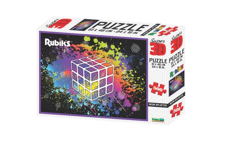 Super 3D Puzzle Rubik's Geeked