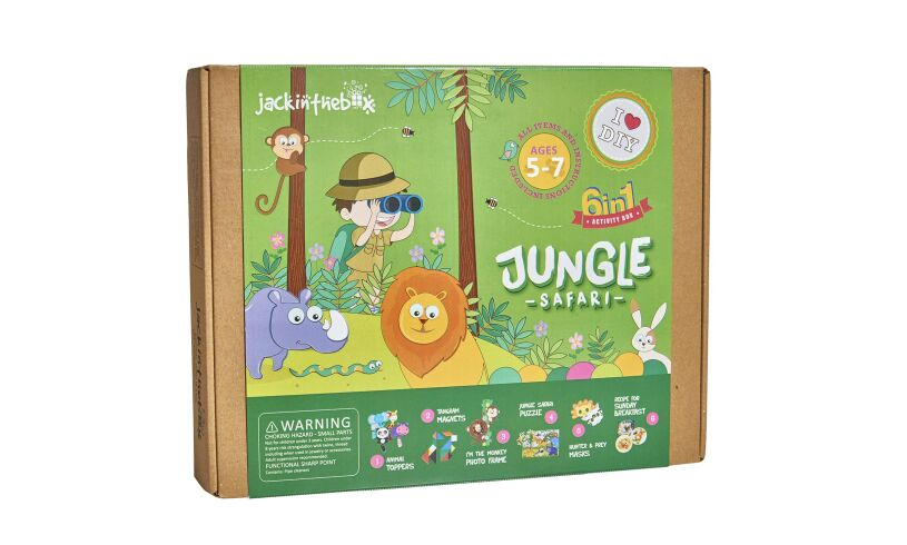 Jungle Safari 6 in 1 kit