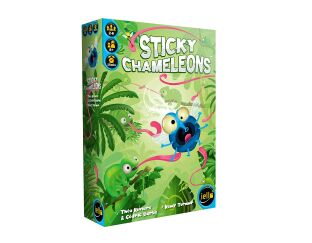 Sticky Chameleon Game