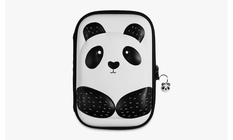 Panda Hard Top Pencil Case