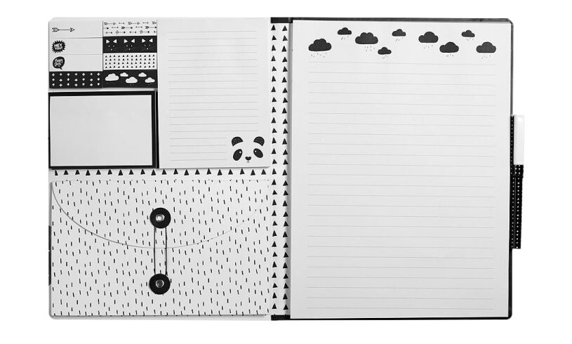 Fourth Wall Brands Panda A4 Luxury Notepad Set