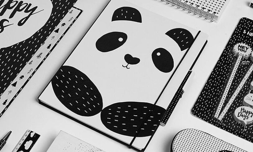 Panda Notepad Set
