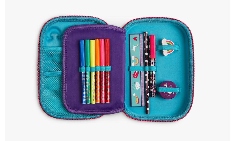 Fourth Wall Brands Unicorn Hardtop Pencil Case