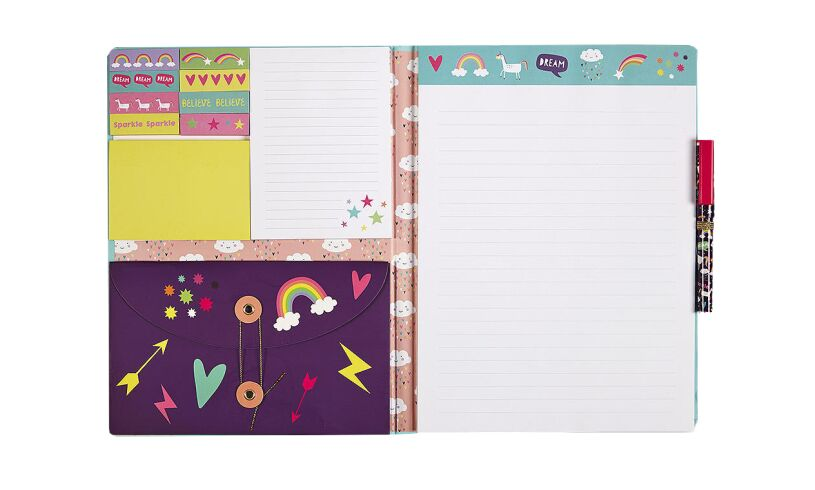 Fourth Wall Brands Unicorn A4 Luxury Notepad Set