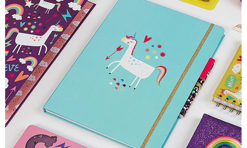 Unicorn Notepad Set