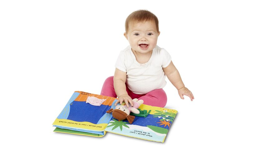 Melissa and Doug Soft Book