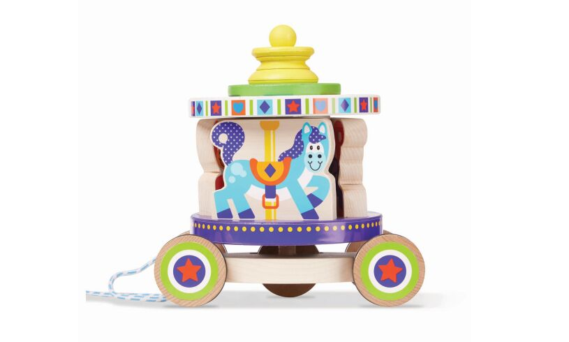 Carousel Pull Along Toy