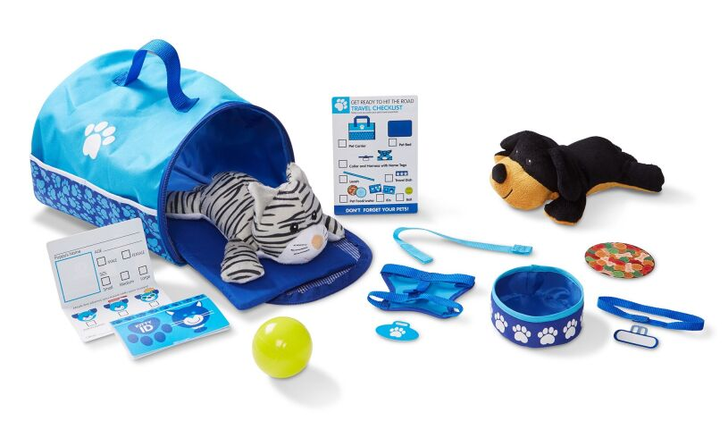 Melissa and Doug Pet Travel Set
