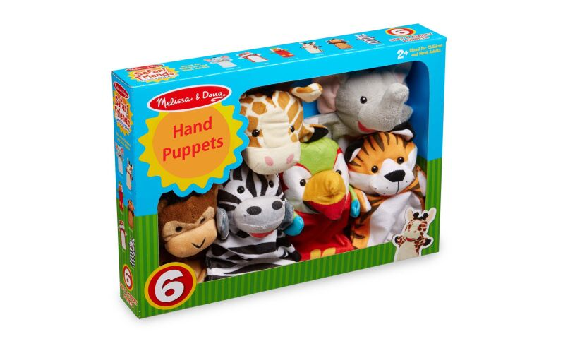 Melissa and Doug Safari Hand Puppets