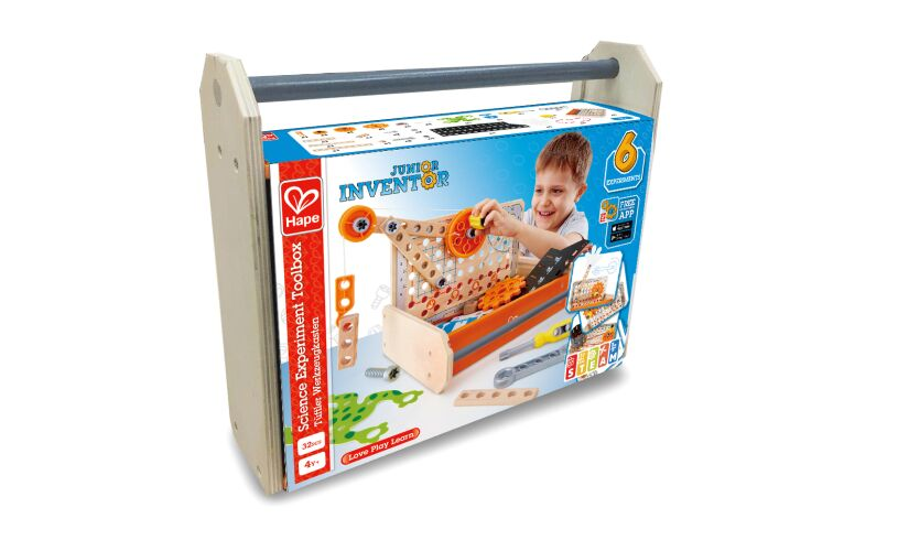 Hape Science Experiment Toolbox E3029