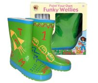 Paint Your Own Wellies - Green