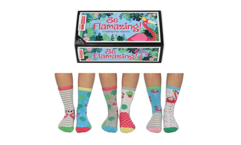 Be Flamazing United Odd Socks